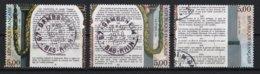 France 1989 : Timbres Yvert & Tellier N° 2596 - 2598 - 2599 Et 2602 Avec Oblit.rondes - France