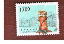 TAIWAN (FORMOSA) - SG 2183  -    1994  KINMEN WIND LION LORDS    -  USED - 1945-... Repubblica Di Cina