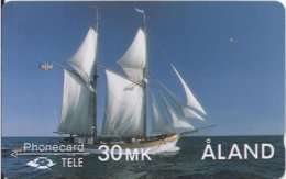 ALAND - THE GALLEY ALBANUS - 2FINC - 25.000EX - Aland