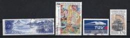 France 1989 : Timbres Yvert & Tellier N° 2601 - 2606 - 2607 - 2608 - 2609 - 2610 - 2611 - 2612 Et 2613 Avec Oblit.rondes - France