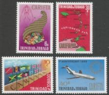 Trinidad & Tobago. 1969 First Anniv Of CARIFTA. MH Complete Set SG 357-360 - Trinidad & Tobago (1962-...)