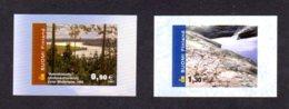 FINLANDE 2002 - Yvert N° 1563/1564 - Facit 1602/1603 - NEUF** MNH - Paysages, Série Courante - Finland