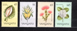 VANUATU  N° 838 à 841  NEUFS SANS CHARNIERE  COTE  10.00€  FLEUR - Vanuatu (1980-...)