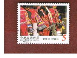 TAIWAN (FORMOSA) - SG 2558  -    1999 ABORIGENALCULTURE: VICTORY FESTIVAL   -  USED - 1945-... Repubblica Di Cina