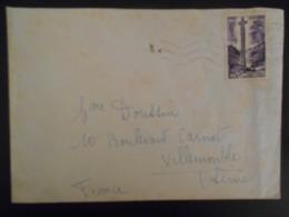 Andorre Français , Lettre D Andorre La Vielle 1958 Pour Villemonble Trace De Rouille - Lettres & Documents