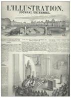 L'illustration Journal Universel N°187 Vol VIII La Fête De La Nativité à Rome - Ile De Jersey - Variations Atmosphérique - Kranten