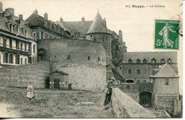 CPA -  DIEPPE - LE CHATEAU - Dieppe