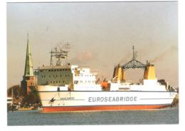 Fährdienst Rostock - Euroseabridge - MS Kahleberg - Schiff - Ship - Dampfer - Paquebot - Ferry - Fähre - Paquebote