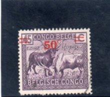 CONGO BELGE 1931-2 O - Congo Belga