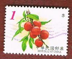 TAIWAN (FORMOSA) - SG 2732.2735  -    2001 FRUITS   -  USED - 1945-... Repubblica Di Cina