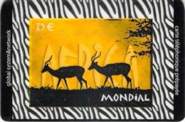 Carte Prépayée - MONDIAL   -  7.5 € - Frankrijk