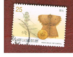 TAIWAN (FORMOSA) - SG 2718  -    2001 EARLY AGRICULTURAL IMPLEMENTS   -  USED - 1945-... Repubblica Di Cina