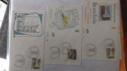 Dispersion D'une Collection D'enveloppe 1er Jour Et Autres Dont 129 D'ALLEMAGNE - Briefmarken