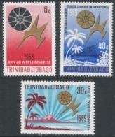 Trinidad & Tobago. 1969 International Congress Of The Junior Chamber Or Commerce. MH Complete Set SG 368-370 - Trinidad & Tobago (1962-...)