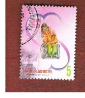 TAIWAN (FORMOSA) - MI 2842  -    2002  LOVE   -  USED - 1945-... Repubblica Di Cina