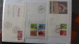 Dispersion D'une Collection D'enveloppe 1er Jour Et Autres Dont 135 D'ALLEMAGNE - Colecciones (en álbumes)