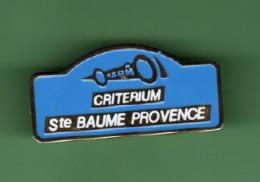 RALLYE *** CRITERIUM SAINTE BAUME *** 1065 - Automobile - F1