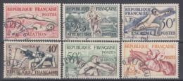 +B1605. France 1953. Olympic Games Helsinki. Yvert 960-65. Cancelled - France