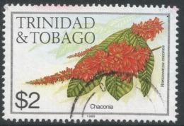 Trinidad & Tobago. 1983 Flowers. $2 Used. SG 648A - Trinidad & Tobago (1962-...)