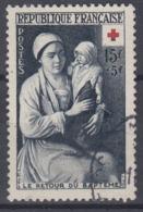+France 1953. Croix Rouge. Yvert 967. Cancelled - France