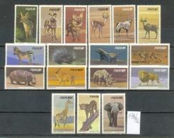 SWA (Namibia) - 476/92  X  Freimarken Säugetierel  Kpl.S.postfr - South West Africa (1923-1990)