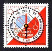 FINLANDE 2001 - Yvert N° 1542 - Facit 1570 - NEUF** MNH - Championat Du Monde De Course D'orientation - Finlande