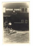 1144 - RIFUGIO FANES S VIGILIO CARTOLINA DA FOTO BOLZANO 1930 CIRCA - Bolzano (Bozen)