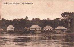 """MANAOS BRESIL Amazonas """"Muqui"""" - Rio Machado 1924 - Manaus"""