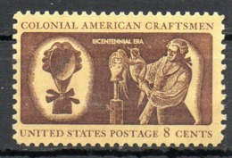 USA. N°957 De 1972. Artisanat. - Unabhängigkeit USA