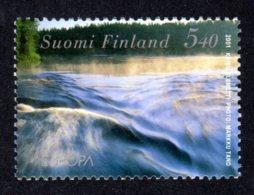 FINLANDE 2001 - Yvert N° 1532 - Facit 1567 - NEUF** MNH - Europa, L'eau - Finland