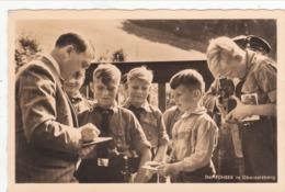 """III. Reich, Propagandakarte """" ADOLF HITLER """" Mit Kinder In Obersalzberg - Weltkrieg 1939-45"""