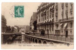 CPA 75 PARIS 16e TOUT PARIS Train De Petite Ceinture Boulevard Emile Augier Gare Ed. F. Fleury Paris N° 2123 - Arrondissement: 16