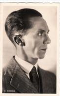 "III. Reich, Propagandakarte "" Dr. Göbbels "" - Weltkrieg 1939-45"