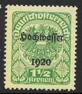 Yvert 243 Michel 351 - 1 1/2 Kr (+3 Kr) Vert-jaune Noir / Jaune-verdâtre Clair - ** - Neufs