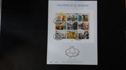 Tintin - Bd: FEUILLET D'ART EN OR 23 CARATS.phylactères Tintin.Timbre Numéro BL81 - Philabédés (comics)