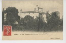 ALLEGRE - Le Vieux Château De COURBIERES , Au Pied Du Mont Bar - France
