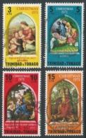 Trinidad & Tobago. 1971 Christmas. Used Complete Set SG 399-402 - Trinidad & Tobago (1962-...)