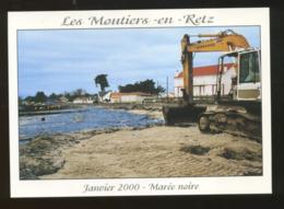 Les Moutiers-en-Retz (44) : Marée Noire De L'Erika En Janvier 2000 - Les Moutiers-en-Retz