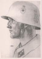 III. Reich, Propagandakarte, Willrich Karte,  Nachdruck 1989 !! - Guerre 1939-45