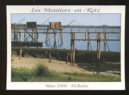 Les Moutiers-en-Retz (44) : En Mer, Pêcheries Près Des Epis - Les Moutiers-en-Retz