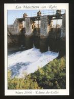 """Les Moutiers-en-Retz (44) : Lacher D'eau à L""""écluse Du Collet - Les Moutiers-en-Retz"""