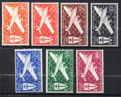 Col17  Colonie Cote Des Somalis PA N° 1 à 7  Neuf X MH  Cote 15,00€ - Côte Française Des Somalis (1894-1967)