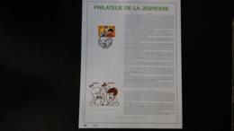 Bd: FEUILLET D'ART EN OR 23 CARATS.Timbre Numéro 2707 - Philabédés (comics)