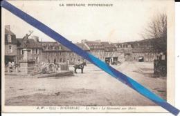 Bourbriac - La Place - -- Circulé - France