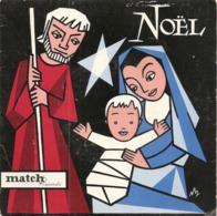Vinyles. 45 T. Willy Clément. Noël (baryton De L'opéra-comique). Minuit Chrétiens (4 Titres) Studio Match Record - Weihnachtslieder