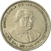 Monnaie, Mauritius, Rupee, 2002, TTB, Copper-nickel, KM:55 - Mauricio