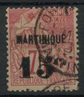 Martinique (1888) N 18 (o) - Martinique (1886-1947)