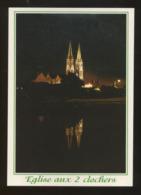 Machecoul (44) : L'église Aux 2 Clochers - Machecoul