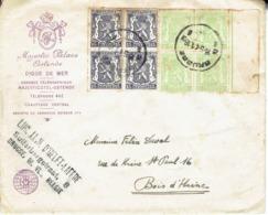 Enveloppe à En-tête De L'Hôtel Majestic Palace Ostende Du 15/5/1941 - Vecchi Documenti