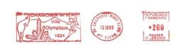 "1989 EMA ""Chamonix Ville Olympique 1924""  (n° P 85058) - Winter 1924: Chamonix"
